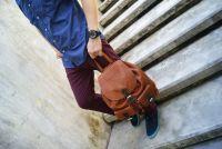 BUFALO BPJ-07 CAMEL кожаный рюкзак