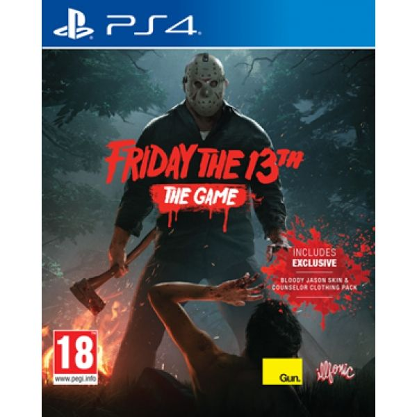 Игра Friday The 13 : The Game (PS4) Пятница 13