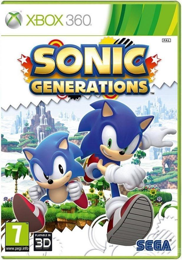 Игра Sonic Generations (Xbox 360)