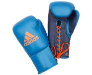 Перчатки боксёрские Adidas Glory Professional ADIBCM06 сине-оранжевые