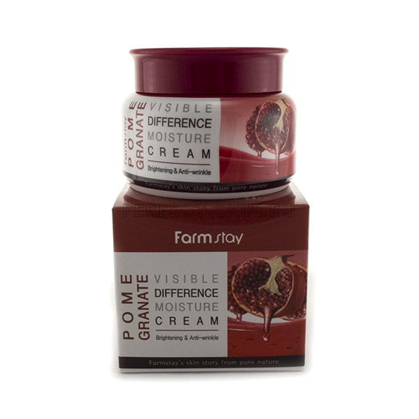 FarmStay Visible Difference Pomegranate Moisture Cream