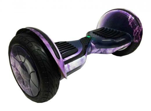 Гироскутер Smart Balance 10 NEW Самобаланс APP Облако фиолетовое