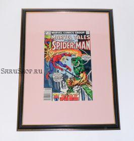 Автограф: Стэн Ли. На комиксе Человек Паук 1981 года. Редкость