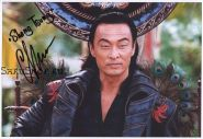 Автограф. Кери Хироюки Тагава. Смертельная битва / Mortal Kombat