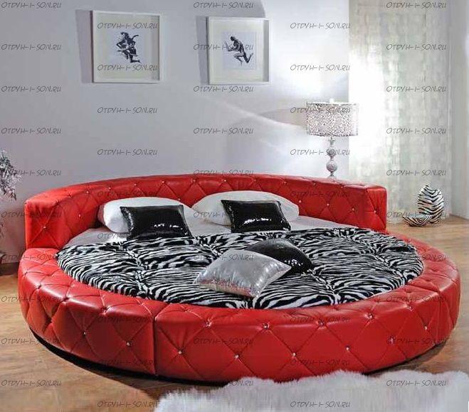 Кровать круглая Амстердам 1054 (б/о)