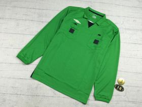 Поло футбольного арбитра Umbro зеленая