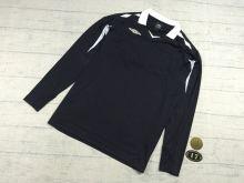 Поло судейская футбольного арбитра Umbro черная