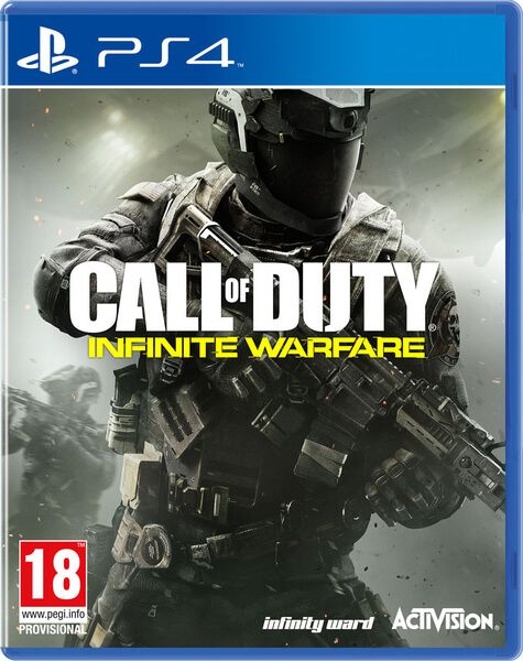 Call of Duty: Infinite Warfare PS4, (русская версия)