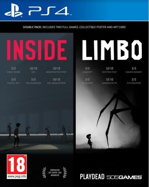 Inside / Limbo - Double Pack ps4