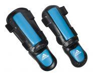 Защита голени и стопы Adidas Thai Shin Instep ADITSN01 чёрно-синяя