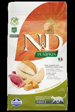 N&D Cat Pumpkin Duck (утка, тыква и мускусная дыня для взрослых кошек)