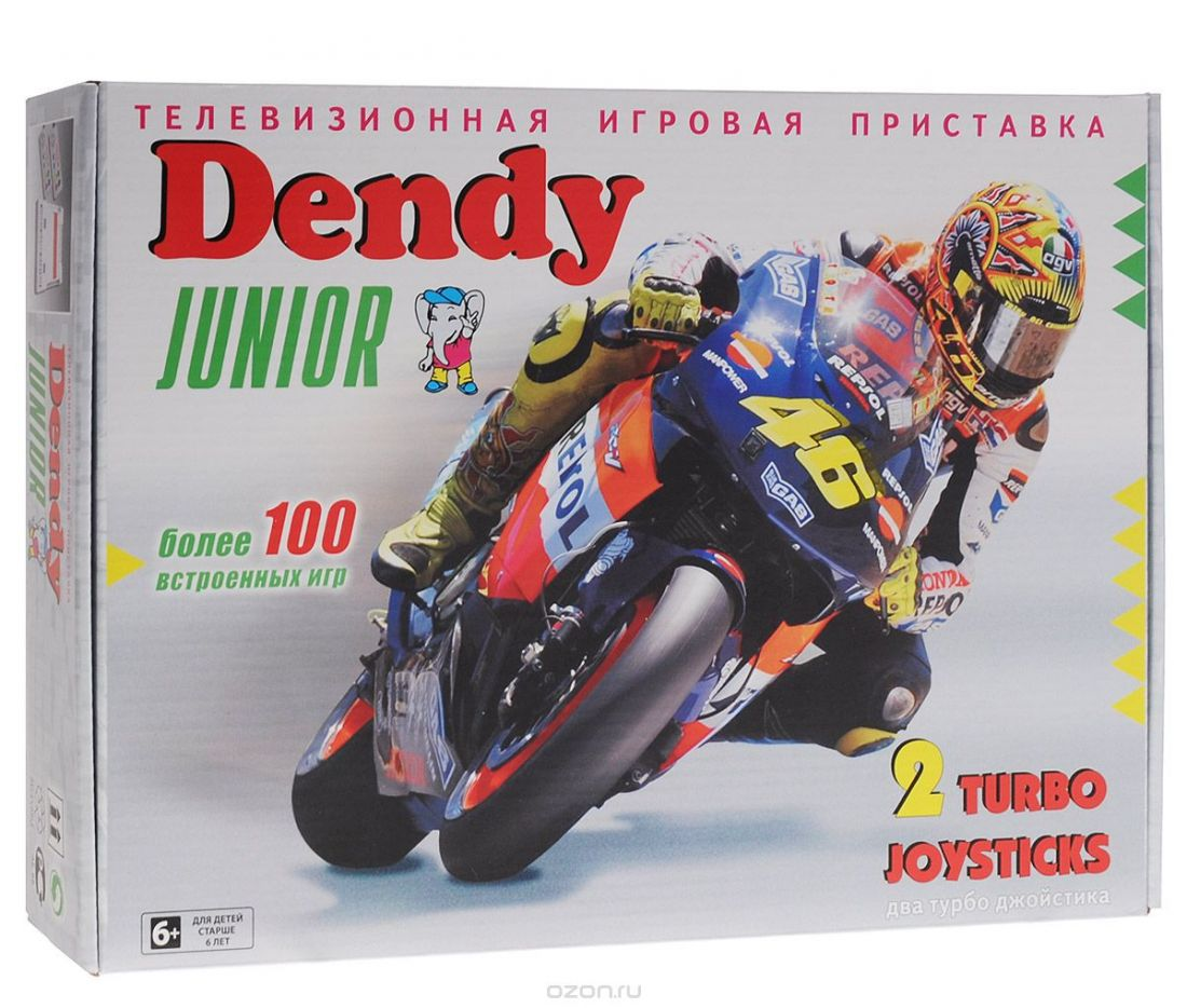 Dendy Junior Classic+104 игры