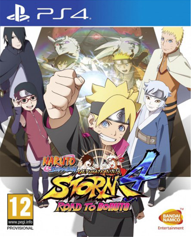 Игра Naruto Shippuden Ultimate Ninja Storm 4 Road to Boruto (PS4)