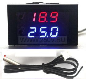Терморегулятор цифровой ТР1209, 12в, -50  +110г