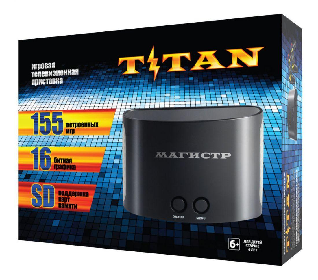 """Sega - Dendy+SD """"Титан 2""""+ 400 встр.игр"""