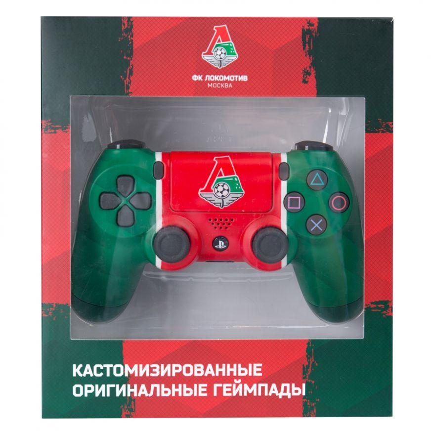"""Sony Dualshock 4 кастомизированный Локомотив """"Чемпионский экспресс"""""""