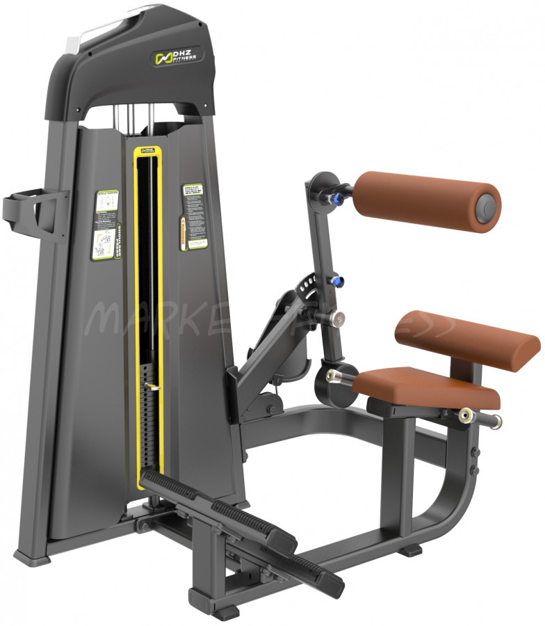 E-1074B Пресс машина/Разгибание спины (Abdominal/Back extension). Стек 140 кг.