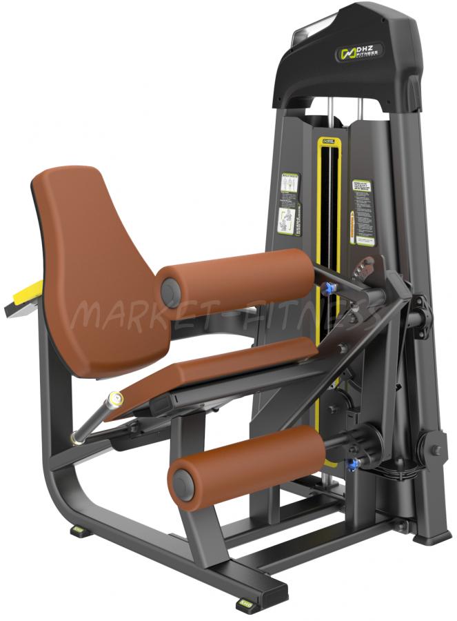 E-1076B Разгибание/Сгибание ног сидя (Leg cur/Leg extension). Стек 109 кг.