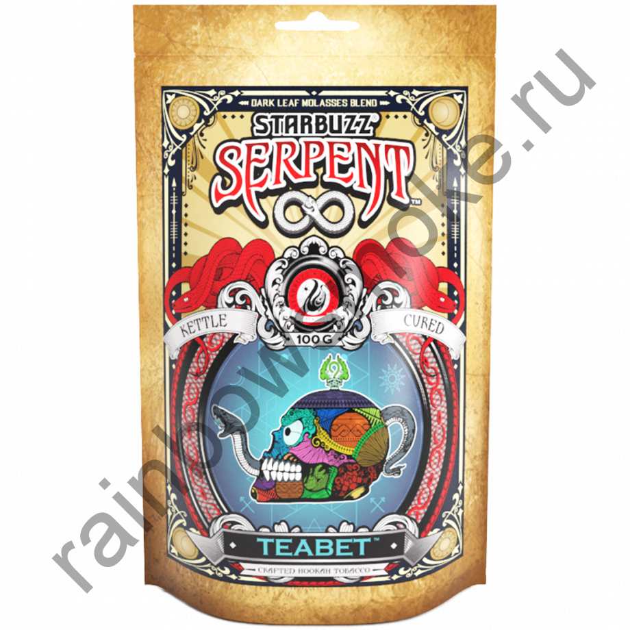 Starbuzz Serpent 100гр - Teabet (ТиБет)