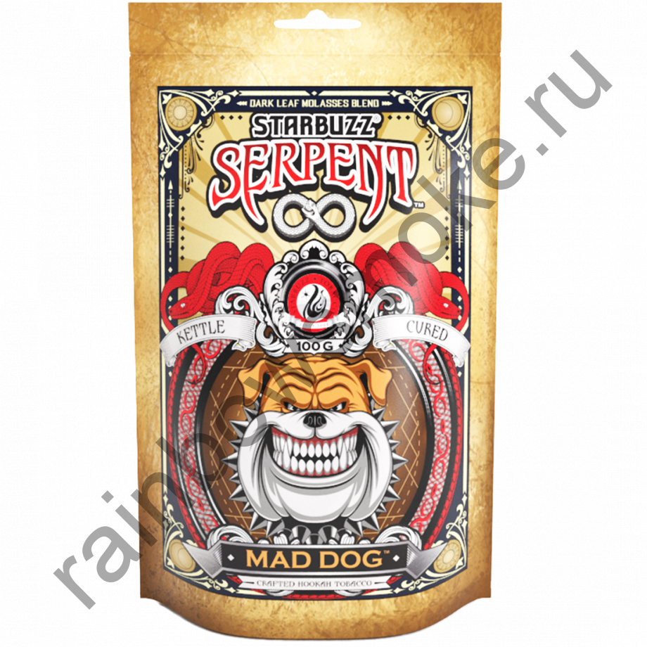 Starbuzz Serpent 100гр - Mad Dog (Дикий Пес)