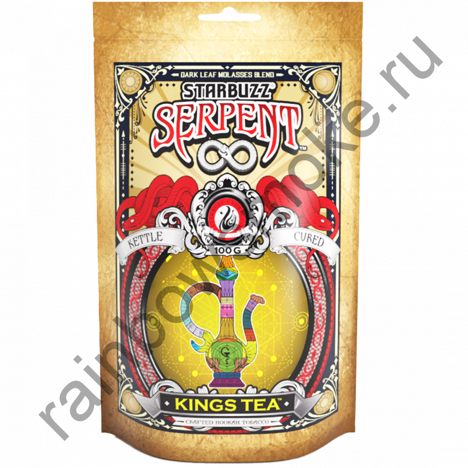 Starbuzz Serpent 100гр - King Tea (Царский Чай)