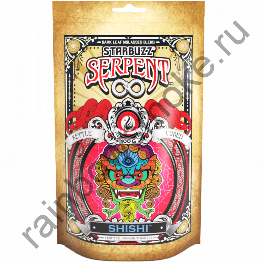 Starbuzz Serpent 100гр - Shishi (Шиши)