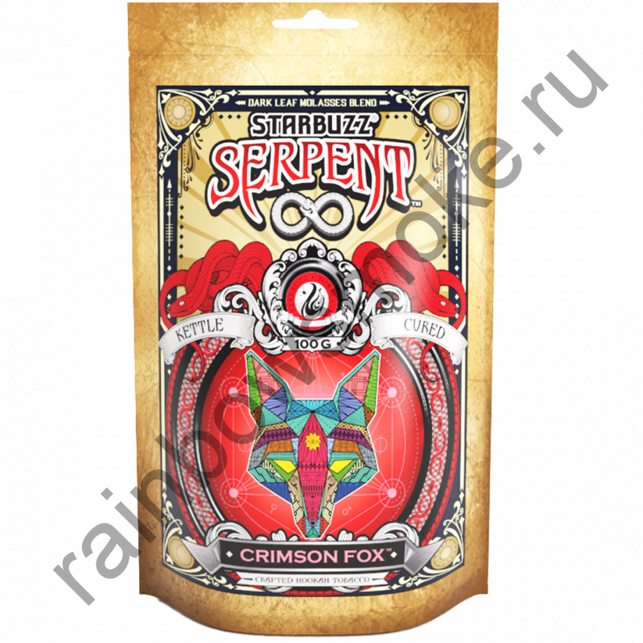 Starbuzz Serpent 100гр - Crimson Fox (Кримсон Фокс)