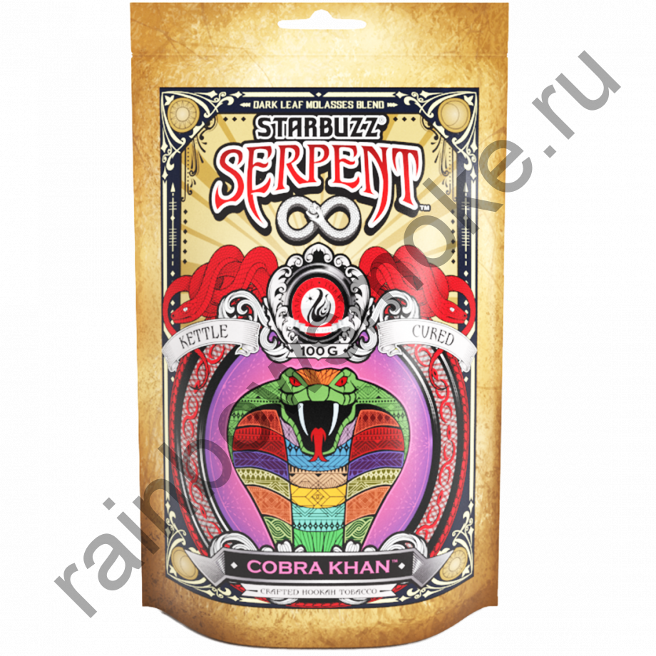 Starbuzz Serpent 100гр - Cobra Khan (Кобра Хан)