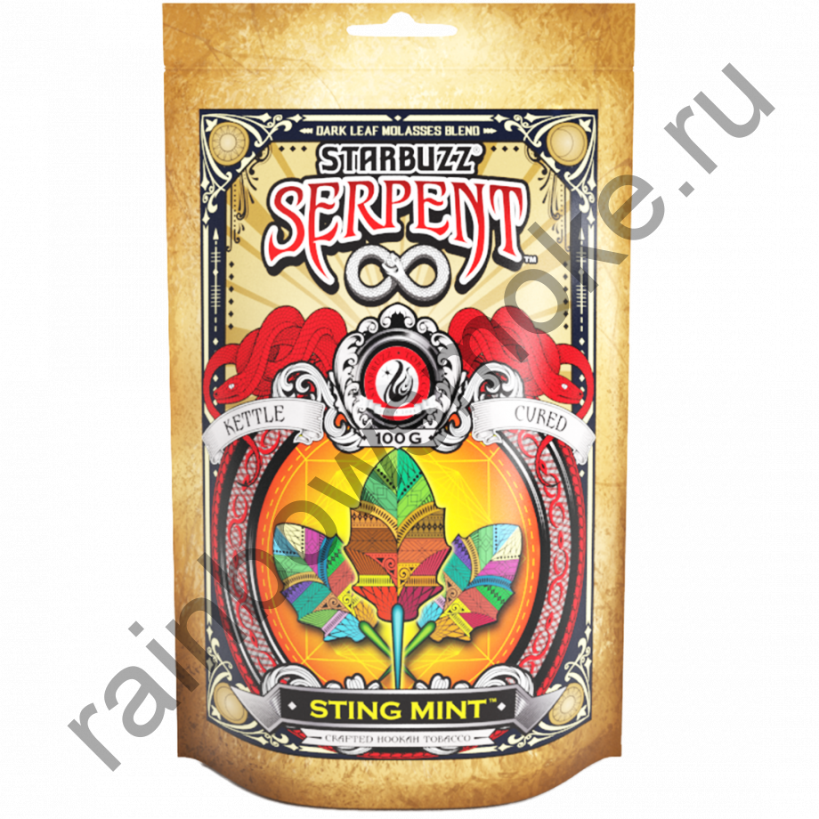 Starbuzz Serpent 100гр - Sting Mint (Стинг Минт)