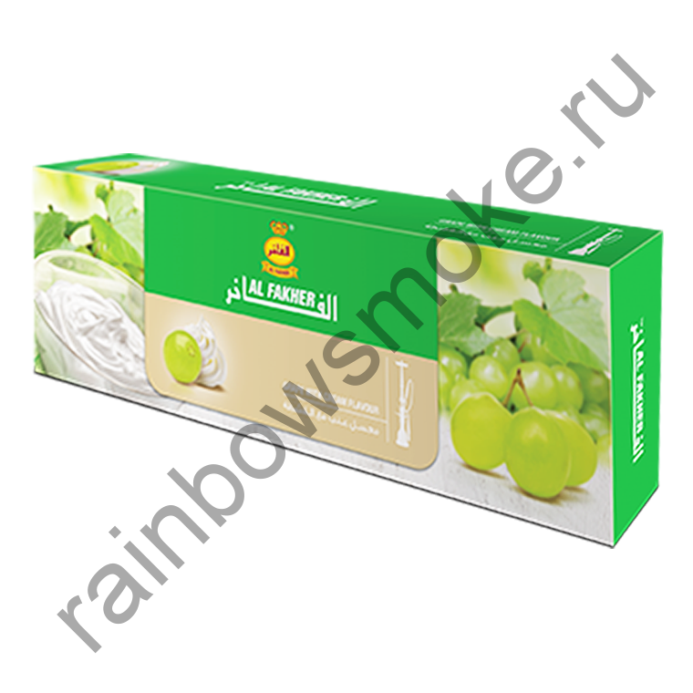 Al Fakher блок (10х50гр) - Grape with Cream (Виноград со Сливками)
