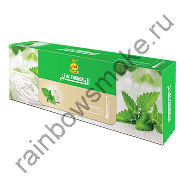 Al Fakher блок (10х50гр) - Mint with Cream (Мята со Сливками)