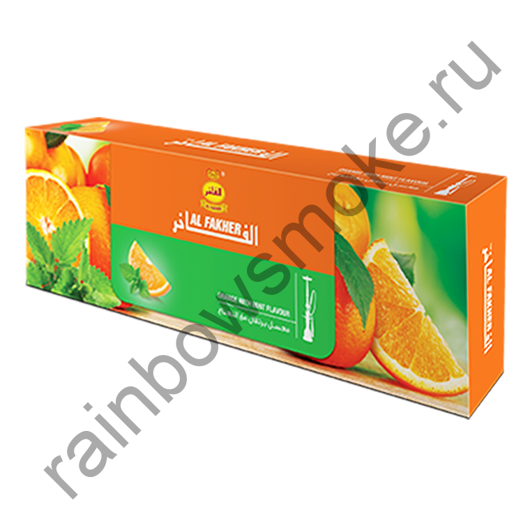 Al Fakher блок (10х50гр) - Orange with Mint (Апельсин с мятой)