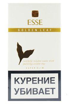 Сигареты Esse Golden Leaf ДЛИННЫЙ БЕЛЫЙ