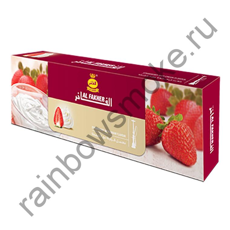 Al Fakher блок (10х50гр) - Strawberry with Cream (Клубника со Сливками)