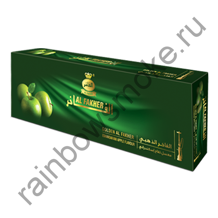 Al Fakher Golden блок (10х50гр) - Eskandarani Apple (Яблоко Эскандарани)