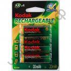 Аккум.KODAK  HR6-4BL (2100 mAh) Pre-Charged  (80)