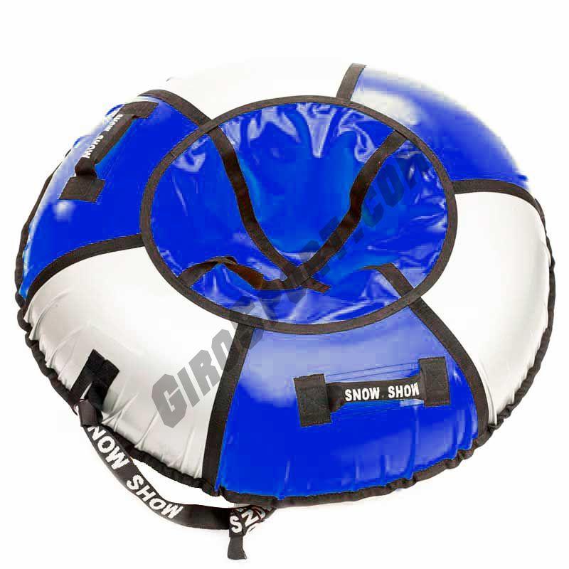 Тюбинг Практик 90 см синий/серебро