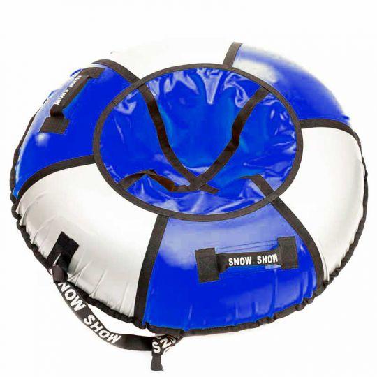 Тюбинг Практик 105 см синий/серебро