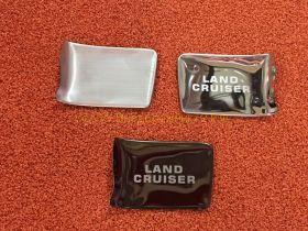 Накладки под ручки в салон (тип 2) для Toyota Land Cruiser 200