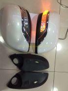 Корпуса зеркал Executive с подсветкой (в цвет авто) для Toyota Land Cruiser 200