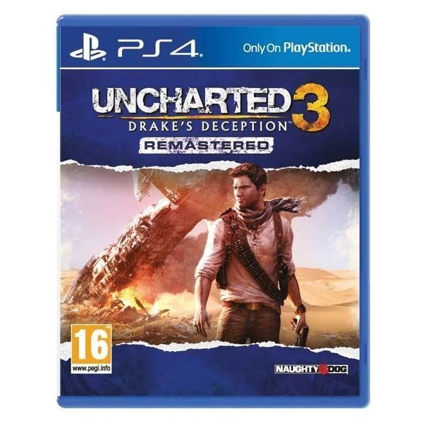 Игра Uncharted 3 Drake's Deception (PS4)