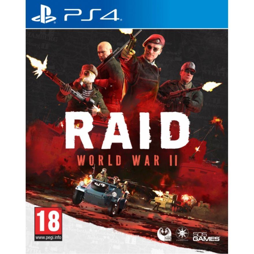 Игра Raid World War II (PS4)