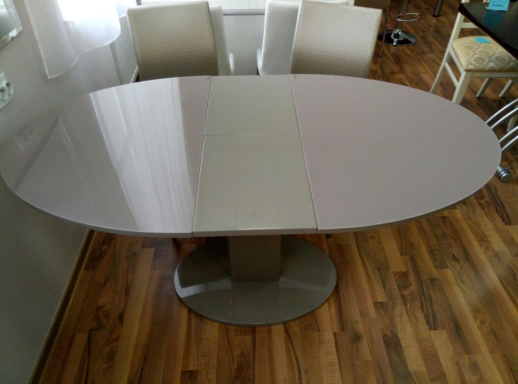 Овальный раскладной стол-трансформер В 2332-1