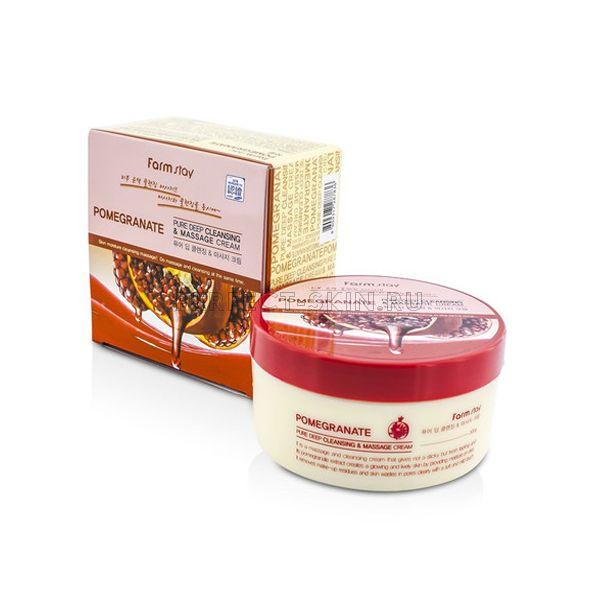 FarmStay Pure Deep Cleansing & Massage Cream Pomegranate