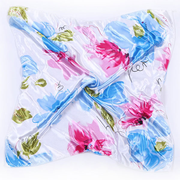 """Шейный платок """"Цветы"""" (3 цвета)"""
