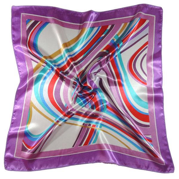 Платок с волнистыми линиями (2 цвета)