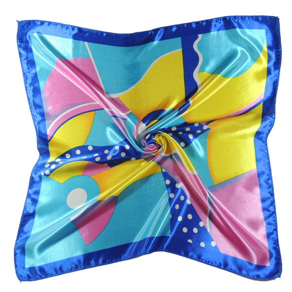 Шейный платок с абстрактным рисунком