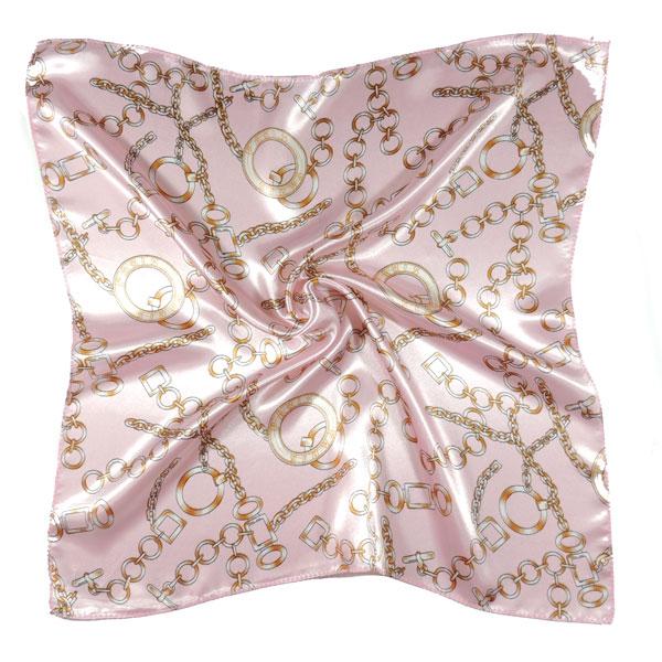 Шейный платок с цепочками