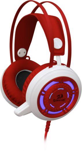 Мониторные наушники с микрофоном игровая гарнитура Redragon Sapphire (2.5 метра)