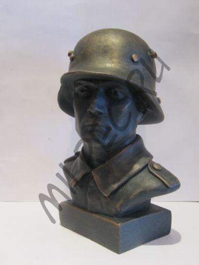 Бюст немецкого солдата времён Первой Мировой Войны